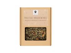 Fruitige Kruidenthee van natuurlijke ingrediënten met de smaak van Perzik