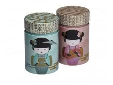 Rond blikje voor Losse thee 'Little Geisha'