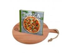 Pizza uit eigen oven + plank